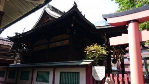 柳森神社 社殿