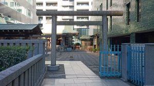 宮益御嶽神社 二の鳥居