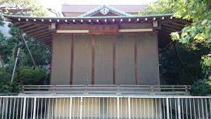 佃島住吉神社 神楽殿