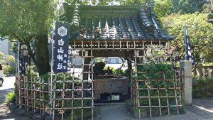 文京区白山神社 手水舎