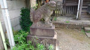 簸川神社 五社神社狛犬 (1)