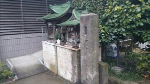 簸川神社 白宝稲荷・水神社