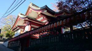 茶ノ木稲荷神社 社殿
