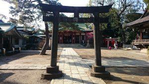 品川神社 三の鳥居