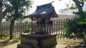 中目黒八幡神社 三峯神社 社殿