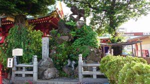 神田神社 獅子山