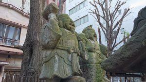 新橋塩竈神社 福神社 大黒・恵比寿尊像