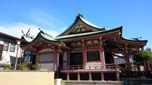 今戸神社 社殿全景