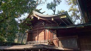 中目黒八幡神社 本殿・幣殿