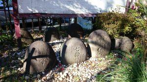 亀岡八幡宮 力石