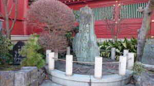 神田神社 銭形平次の碑
