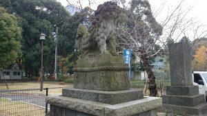 芝東照宮 狛犬 (1)