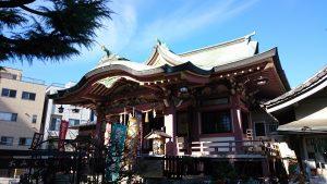 今戸神社 拝殿