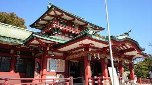 富岡八幡宮 拝殿