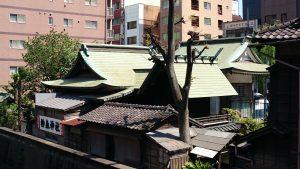 柳森神社 社殿全景