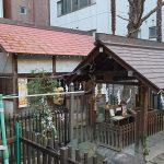 新橋塩竈神社 社殿