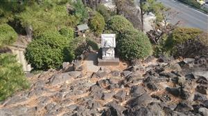 品川神社 富士塚 石祠