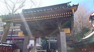 王子稲荷神社 神門
