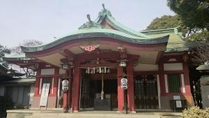 品川神社 拝殿