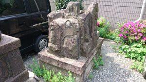 簸川神社 青面金剛・庚申像