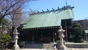 佃島住吉神社 拝殿