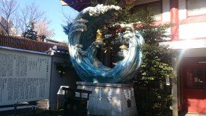 神田神社 えびす様尊像
