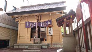 朝日神社 拝殿
