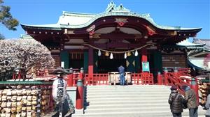 亀戸天神社 社殿