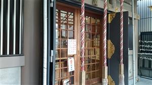 麻布十番稲荷神社 拝殿