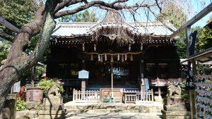 文京区白山神社 拝殿