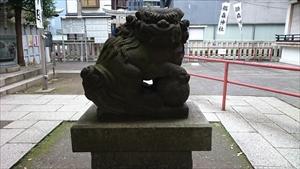 椙森神社 狛犬 (1)