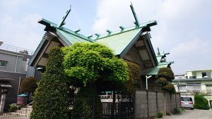 簸川神社 社殿