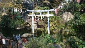 愛宕神社 庭園 (1)