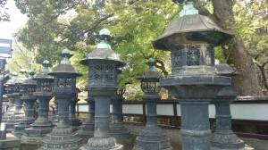 上野東照宮 銅燈籠 (2)