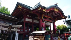 羽田神社 拝殿