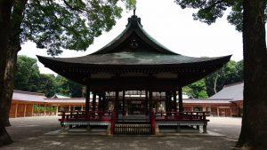 大宮氷川神社 舞殿