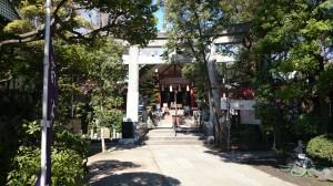 亀戸天祖神社 二の鳥居
