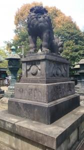 上野東照宮 狛犬 (1)