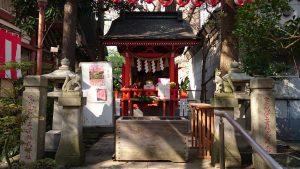 亀戸天祖神社 太郎稲荷神社 社殿