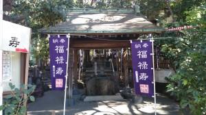 亀戸天祖神社 手水舎