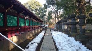上野東照宮 透塀