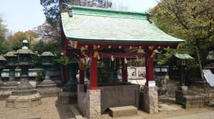 上野東照宮 手水舎 (2)