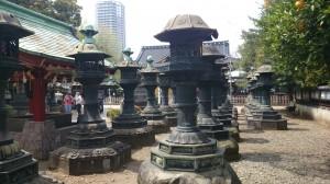 上野東照宮 銅燈籠 (1)