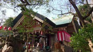 亀戸天祖神社 拝殿