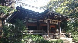 奥澤神社 拝殿