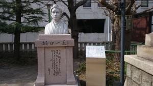 千束稲荷神社 樋口一葉像