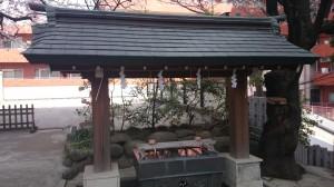 御田八幡神社 手水舎