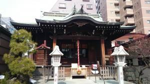 千束稲荷神社 拝殿