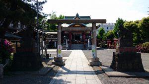羽田神社 二の鳥居