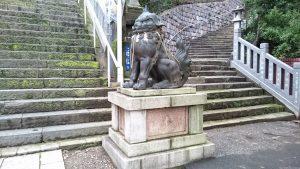 (芝)愛宕神社 狛犬吽像